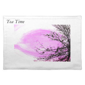 Pink Forest - place matt by Jane Howarth Placemat