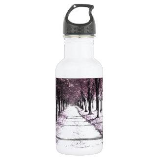 pink forrest gump road 532 ml water bottle