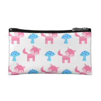 Pink Fox Cosmetic Bag