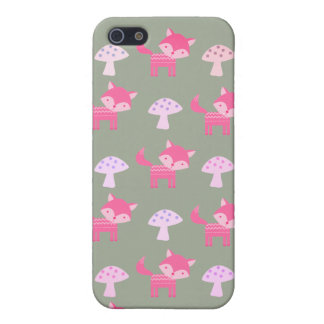 Pink Fox Phone Case Case For The iPhone 5