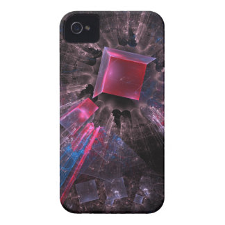 Pink Fractal Case-Mate iPhone 4 Cases