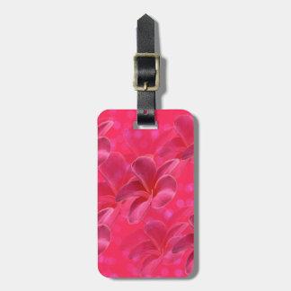 Pink_Frangipani_Passion,_Luggage_Tag. Luggage Tag