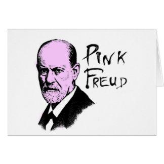 pink_freud greeting card
