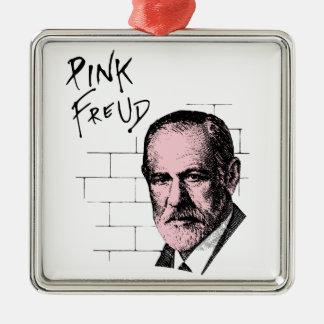 Pink Freud Sigmund Freud Christmas Tree Ornaments