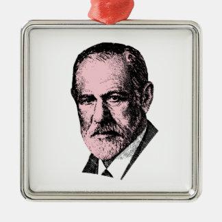Pink Freud Sigmund Freud Christmas Tree Ornament