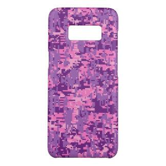 Pink Fuchsia Digital Camouflage Decor on a Case-Mate Samsung Galaxy S8 Case