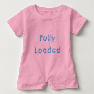 Pink Fully Loaded Baby Romper