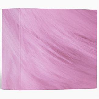 "Pink Fur Print Avery 2"" Binder"