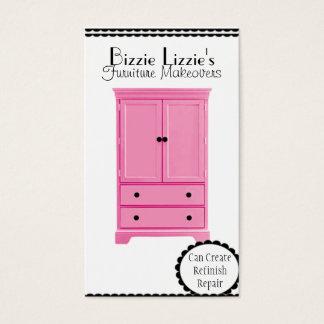 Pink Furniture Business Card