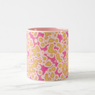 Pink, Fuschia and Gold Mug