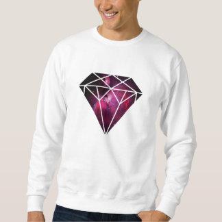 Pink Galaxy Diamond Sweatshirt
