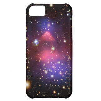 Pink Galaxy Stars Nebula Aurora Print Starry Sky Cover For iPhone 5C