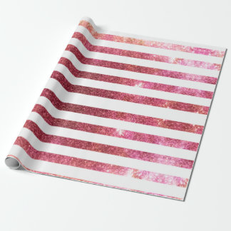 Pink Galaxy Wrapping Paper