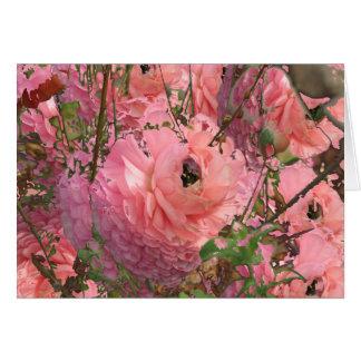 Pink Garden Card