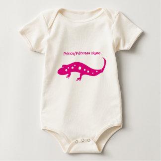 Pink Gecko Baby Bodysuit