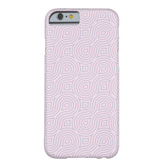 Pink geometric Pattern Barely There iPhone 6 Case