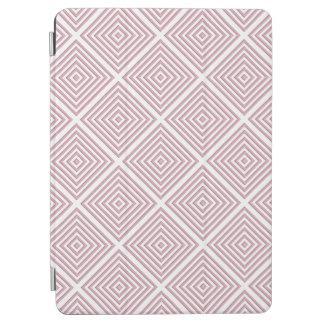 Pink Geometric Squares iPad Air Cover