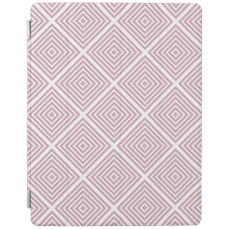 Pink Geometric Squares iPad Cover