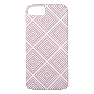 Pink Geometric Squares iPhone 8/7 Case