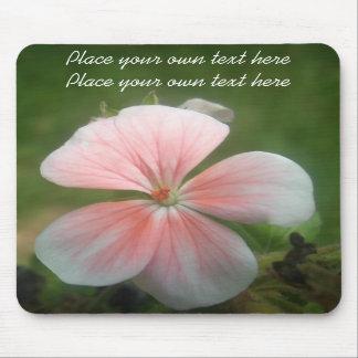 Pink Geranium  mousepad