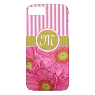 Pink Gerber Daisies iPhone 7 Case