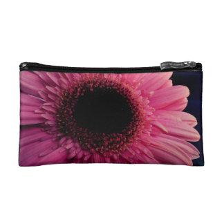 Pink Gerber Daisy Cosmetic Bags