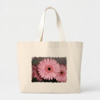 Pink Gerber Daisy Bag