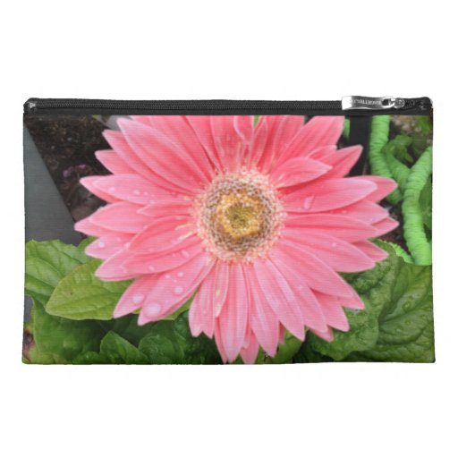 Pink Gerber Daisy Travel Accessories Bags