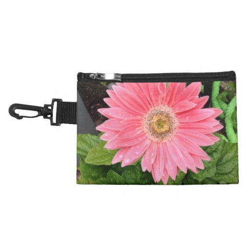 Pink Gerber Daisy Accessories Bags