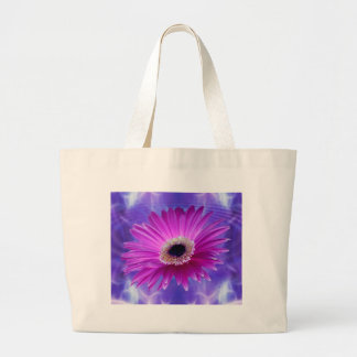 Pink Gerber Daisy Tote Bags