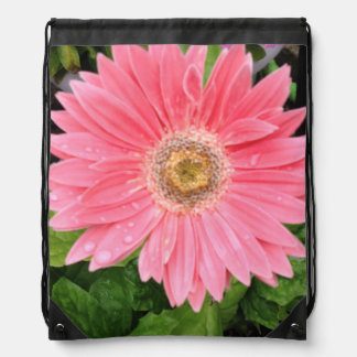 Pink Gerber Daisy Backpack