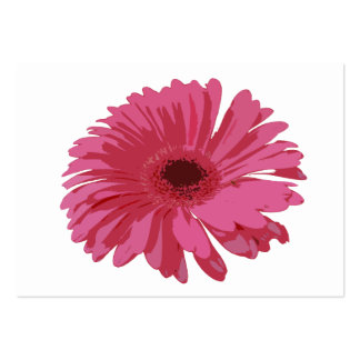 Pink Gerbera CO ACEO Business Card Template