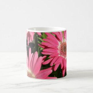 Pink Gerbera Daisy Classic White Coffee Mug