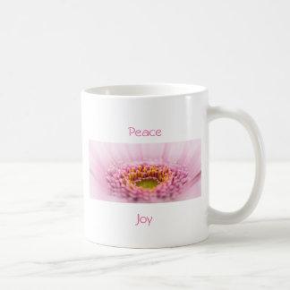 Pink Gerbera  daisy closeup Coffee Mug