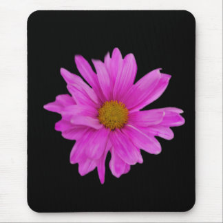 Pink Gerbera Daisy Flower Customizable Mouse Pad