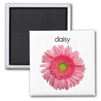 Pink Gerbera Daisy Flower Magnet