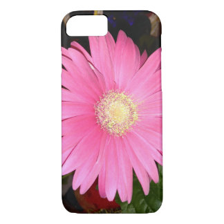 Pink Gerbera Daisy iPhone 8/7 Case