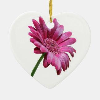 Pink Gerbera Daisy Ornament