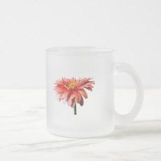 Pink Gerbera Daisy Side View Mugs