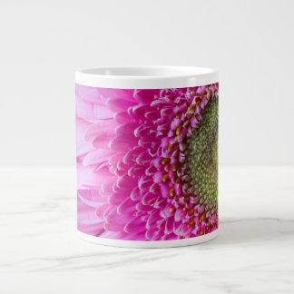 Pink Gerbera Daisy Specialty Coffee Mug Jumbo Mug