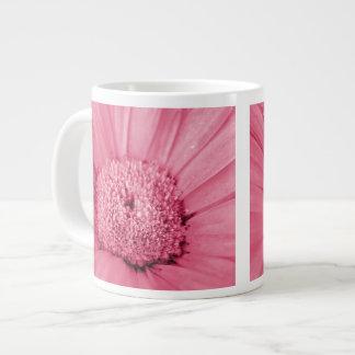 Pink Gerbera Daisy Jumbo Mug