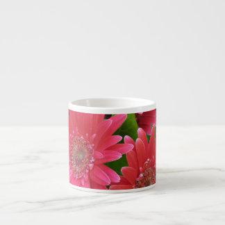Pink Gerbera Daisy 6 Oz Ceramic Espresso Cup