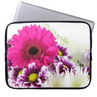 Pink Gerbera Laptop Sleeve