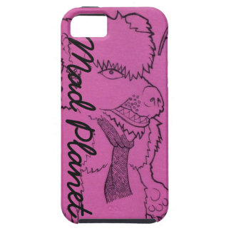 Pink Ghost Girl and Angry Bear iPhone 5 Cases