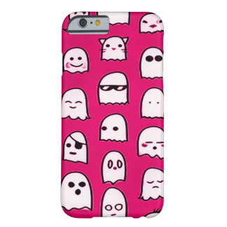 Pink Ghost Party Airbrush Art Custom iPhone Barely There iPhone 6 Case