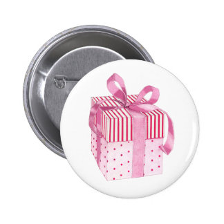 Pink Gift Button