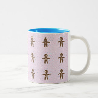 Pink gingerbread cup