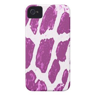 Pink Giraffe Print Blackberry Bold Case