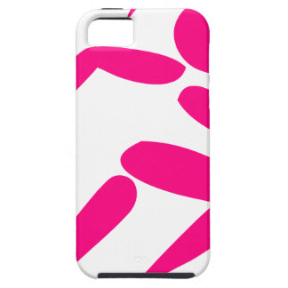 Pink Girl Running iPhone 5 Case