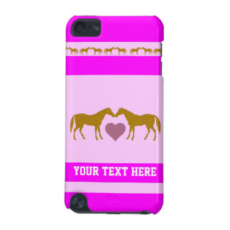 Pink Girls Horse iPod Touch Case - Custom Horse